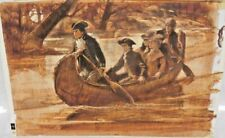 Last of the Mohicans Original Painting used in the James Fenimore Cooper Book