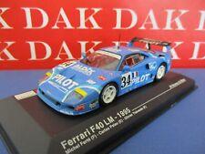 Die cast 1/43 Modellino Auto Ferrari F40 LM Pilot 24H Le Mans 1995
