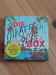 Die Giraffenaffen Box - 5 CDs Mit Songs Und Texten 5CD NEU & OVP