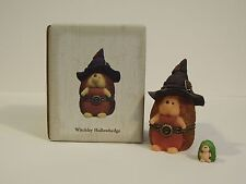 2011 Boyds Witchley Hallowhedge Halloween Treasure Box 1E