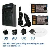 BN-VF808 BN-VF808U Battery/Charger for JVC Everio GZ-MG330 GZMG330 HDD Camcorder