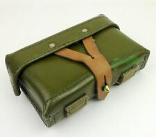 MILITARY SURPLUS VIETNAM ERA CHINESE ARMY TYPE56 LEATHER SKS FIELD AMMO POUCH