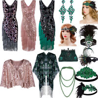 Great Gatsby Costumes 1920s Flapper Dress Peacock Style 50s Tassel Dresses Party