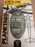 Messerschmitt Bf 109 Plane Tag / Planetags – World War 2 Veteran - Free Shipping
