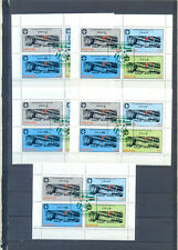 DHUFAR LOT 5 BLOCKS ANNIVERSARY OF SCOUTING WITH SPECIAL CANCELED 2000  MNH