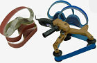 NEW BLUEROCK ® Tools 40A Pipe Polishing Belt Sander & 100 Belts fits Metabo