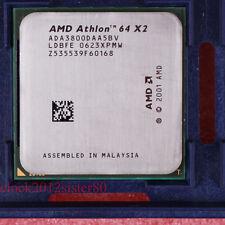 Good work AMD Athlon 64 X2 3800+ 1000/2 GHz Skt 939 CPU Processor ADA3800DAA5BV