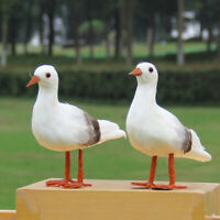 Künstlicher Tierfiguren Möwe See Vogel Seevogel Meer Maritim Deko