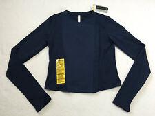 NWT Under Armour M Medium Studiolux Street Sleek Jacket Navy Blue Thumbholes