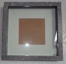 Black Diamante/Bling Box 3D Photo Picture Frame  Gift