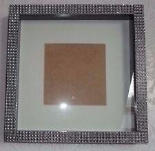 Black Diamante/Bling Box 3D Photo Picture Frame  Gift