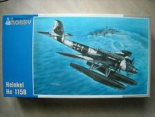 SPECIAL HOBBY 1/48 HEIKEL HE-115B FLOAT PLANE-GERMAN MARKINGS