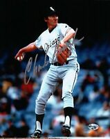 Charlie Hough Signed 8X10 Photo Autograph Chicago White Sox Auto COA Silver Ink
