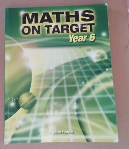 Maths on target Year 6 book used condition