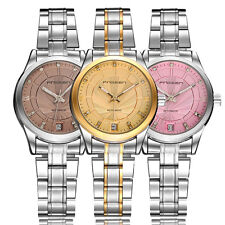 Women Ladies skeleton Automatic Mechanical Watch Stainless Steel Date Wristwatch