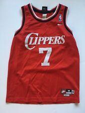VINTAGE NIKE NBA LOS ANGELES CLIPPERS LAMAR ODOM SWINGMAN JERSEY SIZE YOUTH M