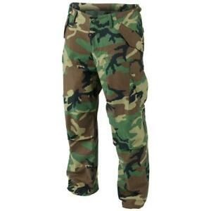 MILITARY ISSUE M65 BDU PANTS COLD WEATHER WOODLAND CAMOUFLAGE USA MADE