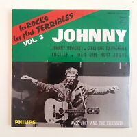 JOHNNY HALLYDAY ♦ CD NEUF SOUS BLISTER ♦ LES ROCKS LES PLUS TERRIBLES VOL. 3