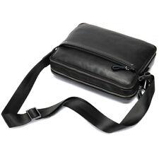 Mens Genuine Leather Shoulder Messenger Bag Cross Body Business Bags Satchel