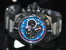 Invicta Men's Rare Subaqua Noma IV Swiss Chrono Blue Dial Black Poly Watch 10975