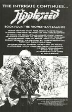 APPLESEED BOOK FOUR b/w ECLIPSE COMICS GRAB BAG OFFER - 1991 ECLIPSE COMICS