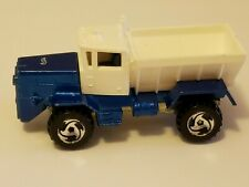 "Original Vintage 1983 Hot Wheels ""OSHKOSH SNOW PLOW"" ~ Metallic Blue ~ EXCELLENT"