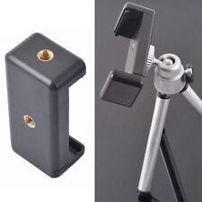 Universal Mobile Phone Camera Holder Clip Tripod Mount Stands Adapter Adjustable