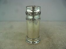 Arts & Crafts Planished Combined Solid Silver Communion Piece, London 1915
