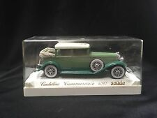 Olive Green Diecast Car Age d'or Solido Cadillac Commerciale 4060 made in France