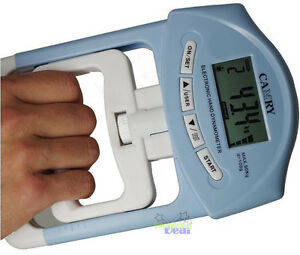 Strength Training Gripper Wrist Exercise Electronic Hand Dynamometer 198lb/90kg