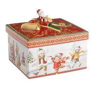 V&B Keksdose Christmas Toys Geschenkpaket mittel eckig Spaziergang 5429 Villeroy