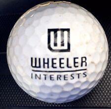 Wheeler Interests logo On Prov1 golf ball Titleist Pro V 1 Display W