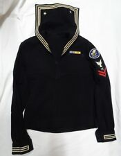 WWII US Navy Seabees Wool Jumper Top Carpenters Mate 2nd Class Pacific Theater