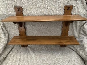 Rare! Beautiful Vintage Ethan Allen Country French Accessory Wall Display Shelf