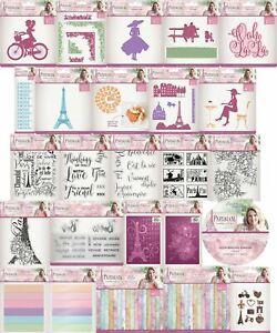 Crafters Companion - Parisian - SARA SIGNATURE COLLECTION - Cardmaking YOU PICK