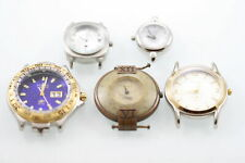 Fossil Watch Cases Women Men Stainless Silver Gold Water Res Non-Working Items