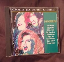 SONGBIRDS by VARIOUS ARTISTS, CD: Betty Carter, Patti Austin, Natalie Cole, etc