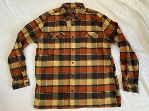 Men's Patagonia Fjord Flannel Shirt Sz. XXL NWT