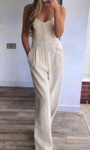 Zara Women Rustic Jumpsuit Sand 7798/181