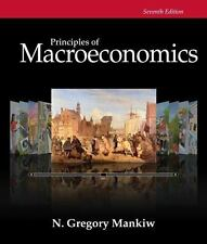 Principles of Macroeconomics 7th Edition Gregory Mankiw Paperback-Near Mint-NOS