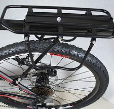 Bicycle Mountain Bike Rear Rack Seat Post Mount Pannier Luggage Carrier Set