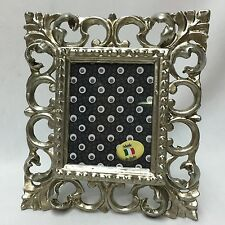 Picture Frame Antique Silver Baroque Ornament 14x16 Photo Photoframe CQP