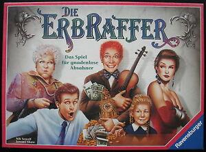 RAVENSBURGER 260584 - DIE ERBRAFFER - NEU original verschweißt - Brettspiel