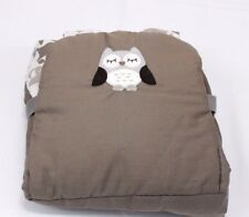 Eddie Bauer Infant Baby Shopping Cart and Highchair Cover Unisex Owl Design