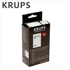 Genuine Krups Descaling Powder Descaler Anticalc kit Coffee Espresso - F054