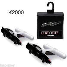 K2000 boutons de manchette KITT officiels K2000 Knight rider KITT cufflinks