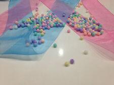 Lot 50 pieces Perle ronde Acrylique 6mm mixte scrapbooking, Bijoux, Bracelet,...