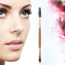 Double Sided Ended Eyebrow Makeup Wand Brow Shaping Angled Eyelash Brush