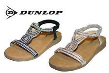 Dunlop Standard Width (D) Synthetic Sandals for Women