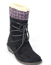 New UGG AUSTRALIA Women Tanasa boots 1001668 Black Sz US 7 *NWB*